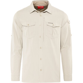 Craghoppers NosiLife Adventure II Long Sleeved Shirt Men parchment